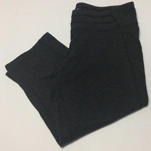 Champion Duo Dry Charcoal Gray Capri Leggings